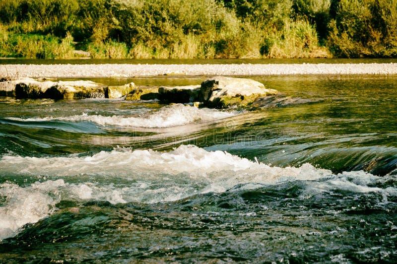 Munich Tysklandfloden naturchillout kopplar av retro arkivbilder