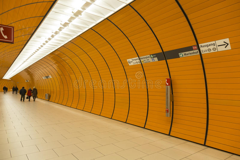 Munich U-Bahn. The Munich U-Bahn system currently comprises eight lines, serving 96 stations 100 stations if four interchange stations with separate levels for stock photos