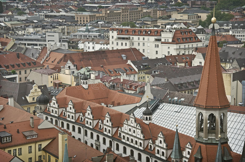 Munich vernaculaire photo stock