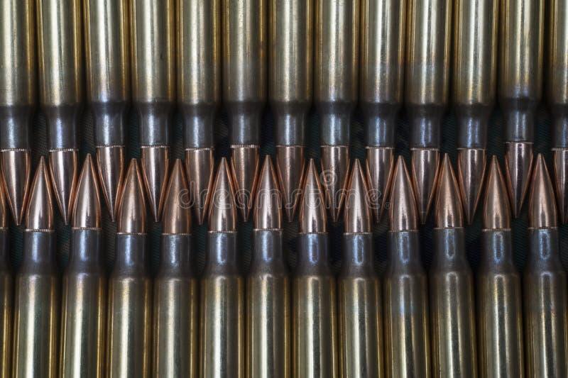 308. munición del rifle del calibre fotografía de archivo