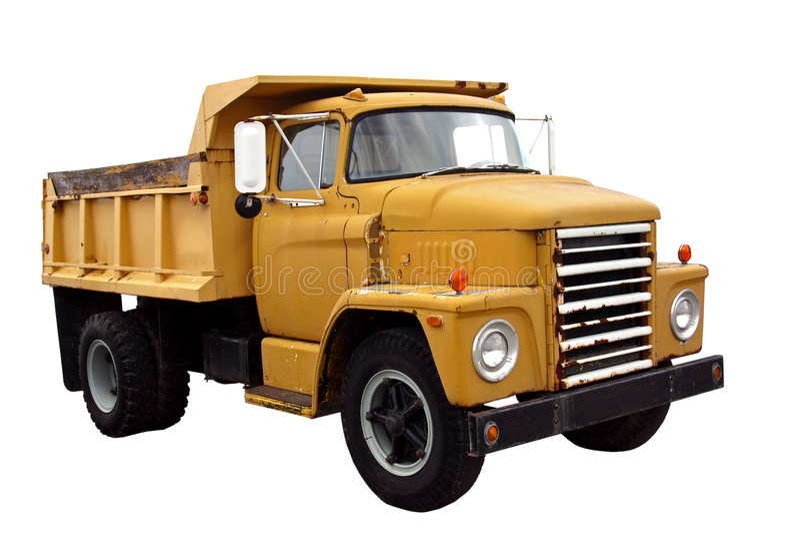 Municipal Dump Truck royalty free stock photo