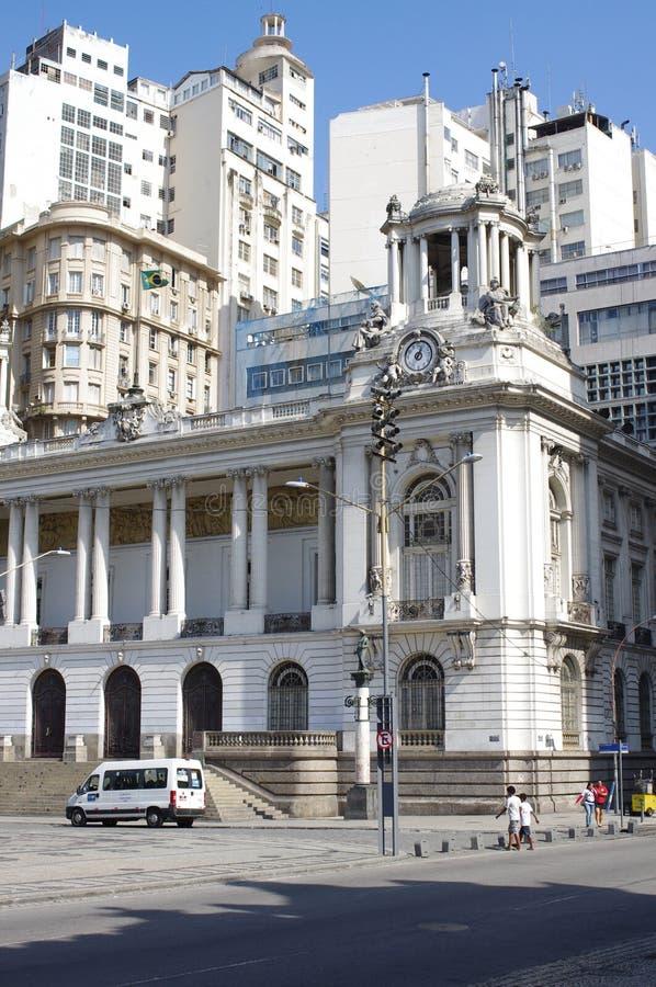 Municipal Theatre of Rio de Janeiro stock images