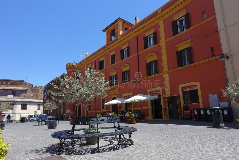 A municipalidade de Cerveteri foto de stock royalty free