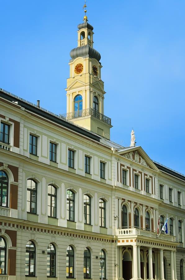 Municipality av Riga fotografering för bildbyråer
