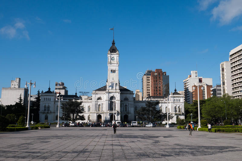 Municipality of La Plata. In Buenos Aires Province, Argentina royalty free stock photo