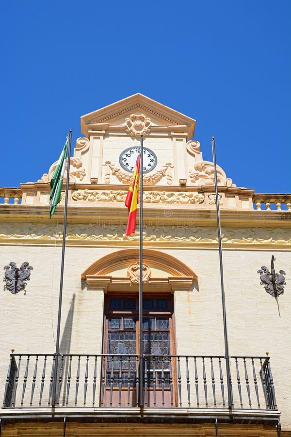 Municipio, Ayamonte immagini stock