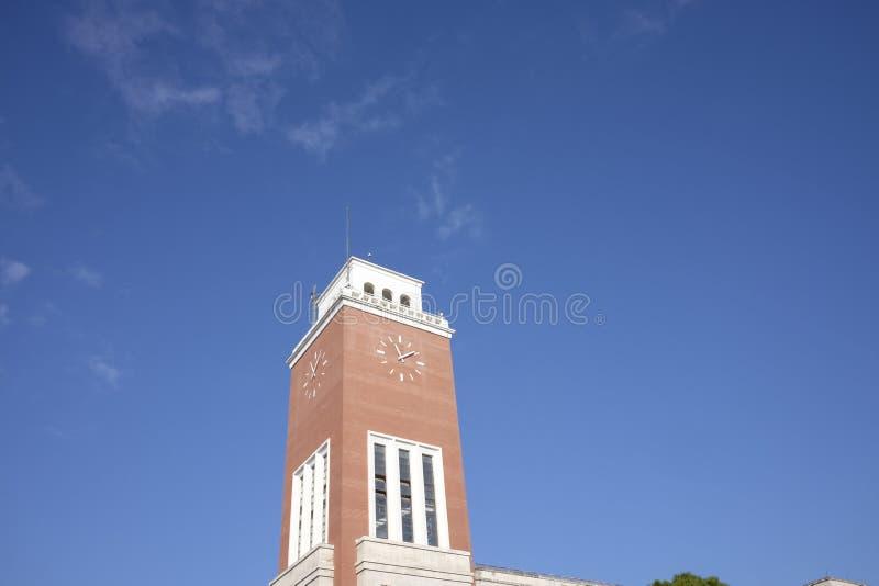 Municipio della torre del pescara immagini stock libere da diritti