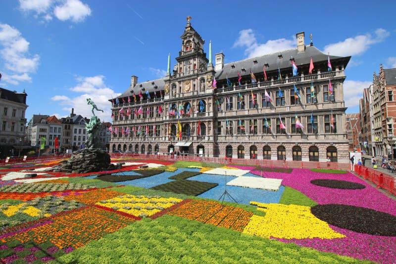 Municipio di Anversa/Stathuis immagini stock