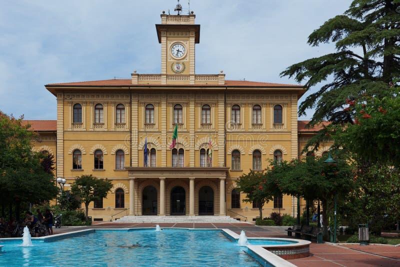 Municipio di Cattolica, Italia immagini stock libere da diritti