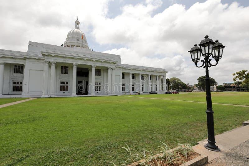 Municipio di Colombo nello Sri Lanka immagini stock libere da diritti