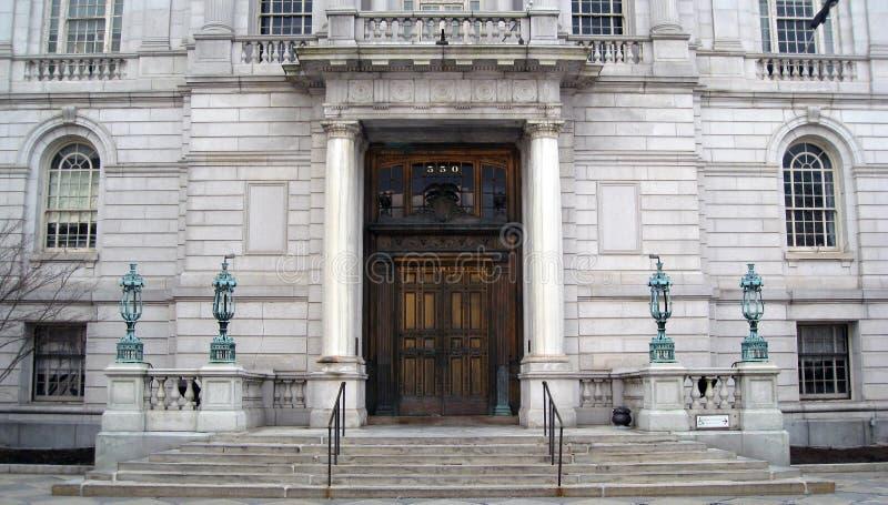 Municipio di Hartford Connecticut fotografia stock libera da diritti