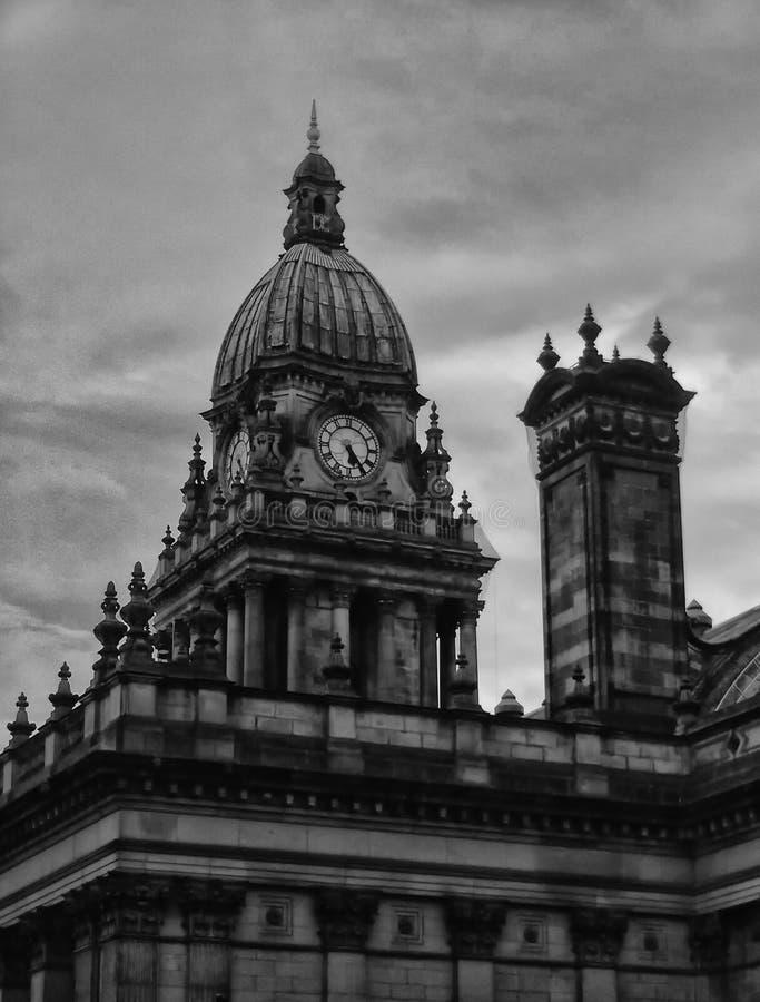 Municipio di Leeds fotografie stock libere da diritti