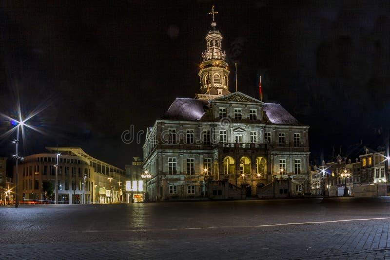 Municipio di Maastricht fotografie stock