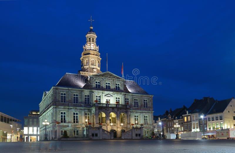 Municipio di Maastricht, Paesi Bassi immagini stock libere da diritti