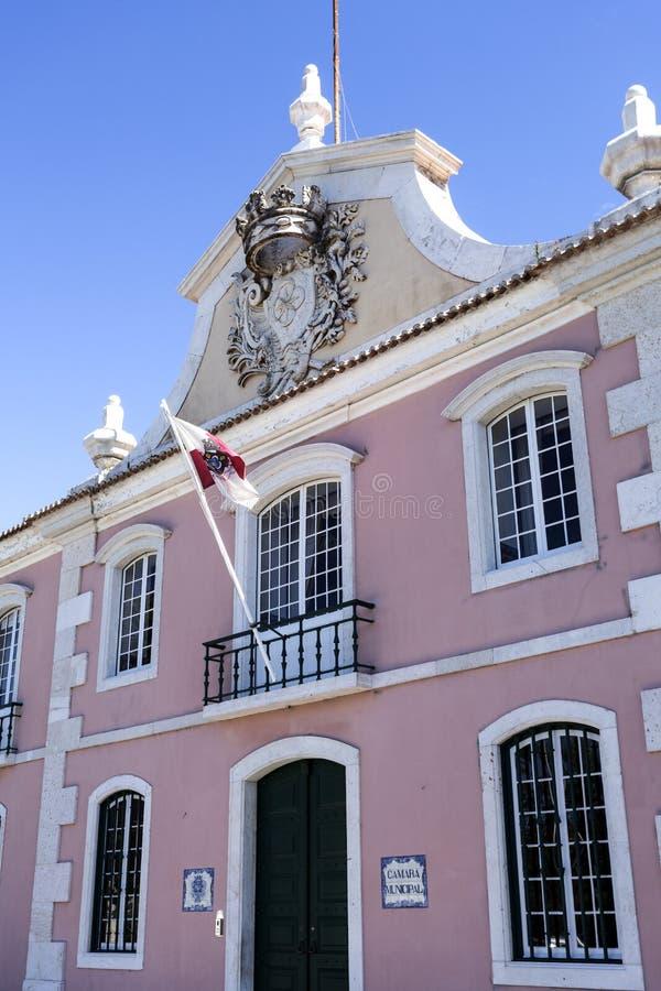 Municipio di Oeiras immagine stock libera da diritti