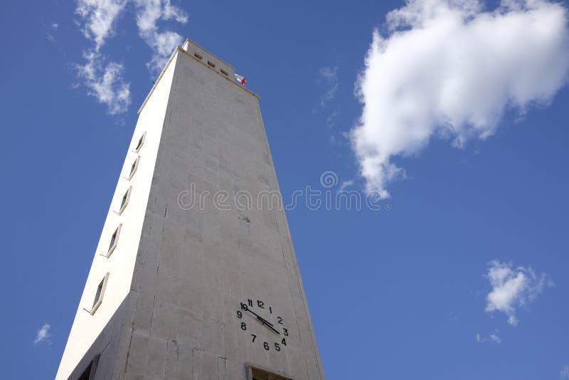 Municipio di Sabaudia fotografia stock libera da diritti