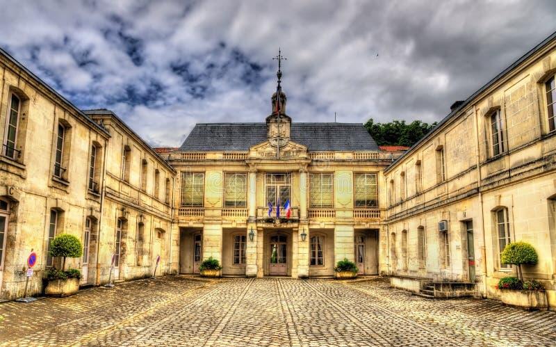 Municipio di Saintes - la Francia immagini stock libere da diritti