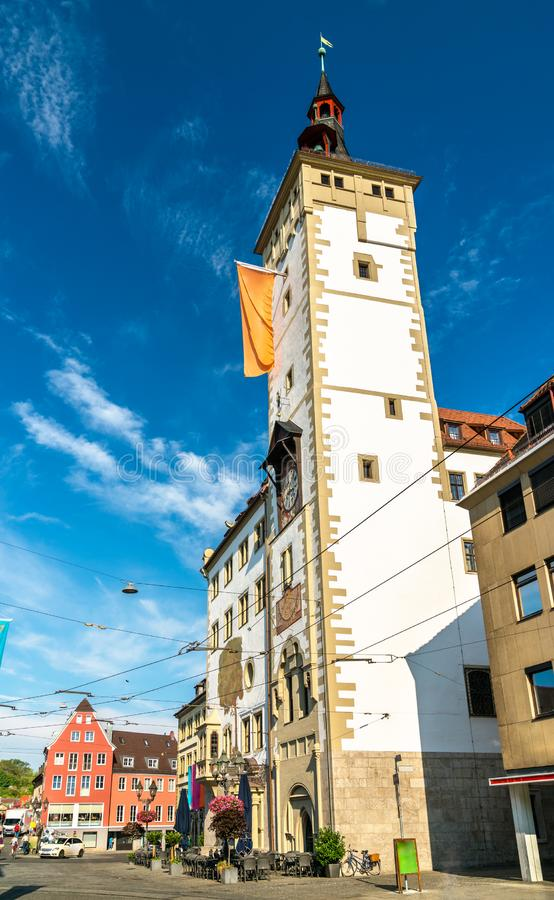 Municipio di Wurzburg in Baviera, Germania immagine stock
