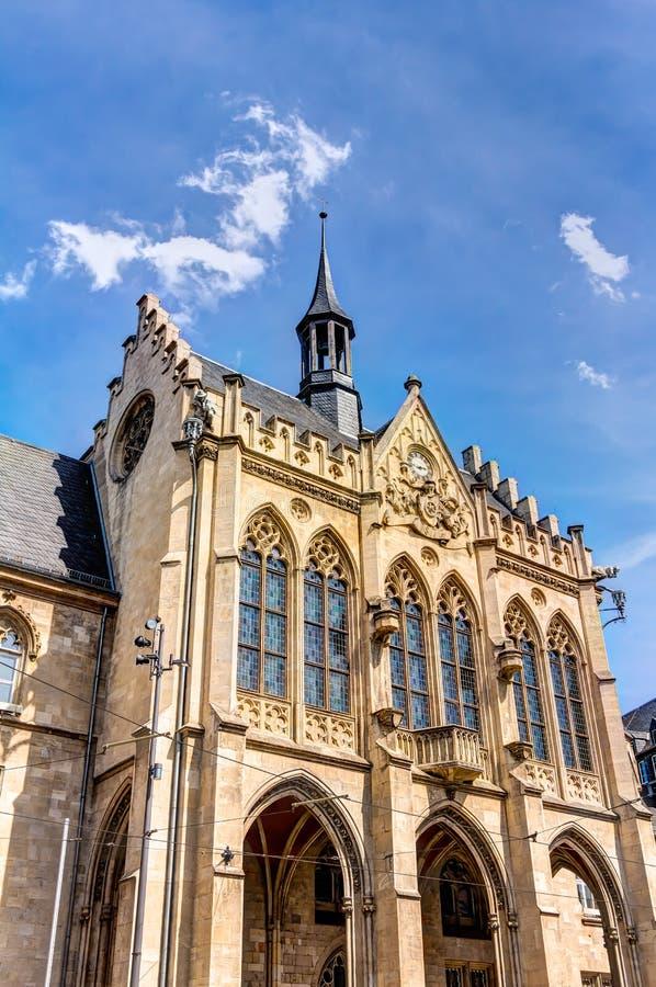 Municipio a Erfurt immagine stock libera da diritti