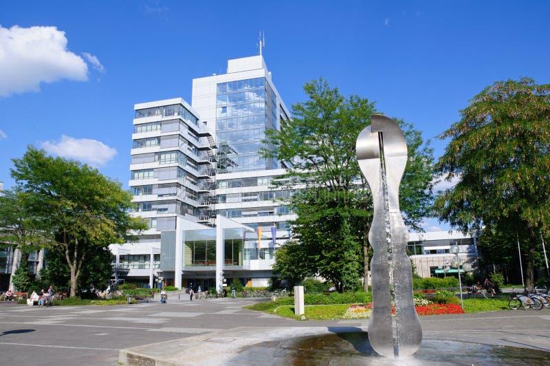 Municipio - Erlangen, Germania fotografia stock