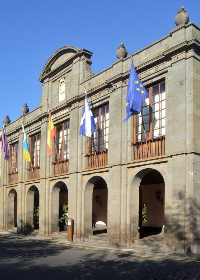 Municipio La Laguna Tenerife immagini stock libere da diritti