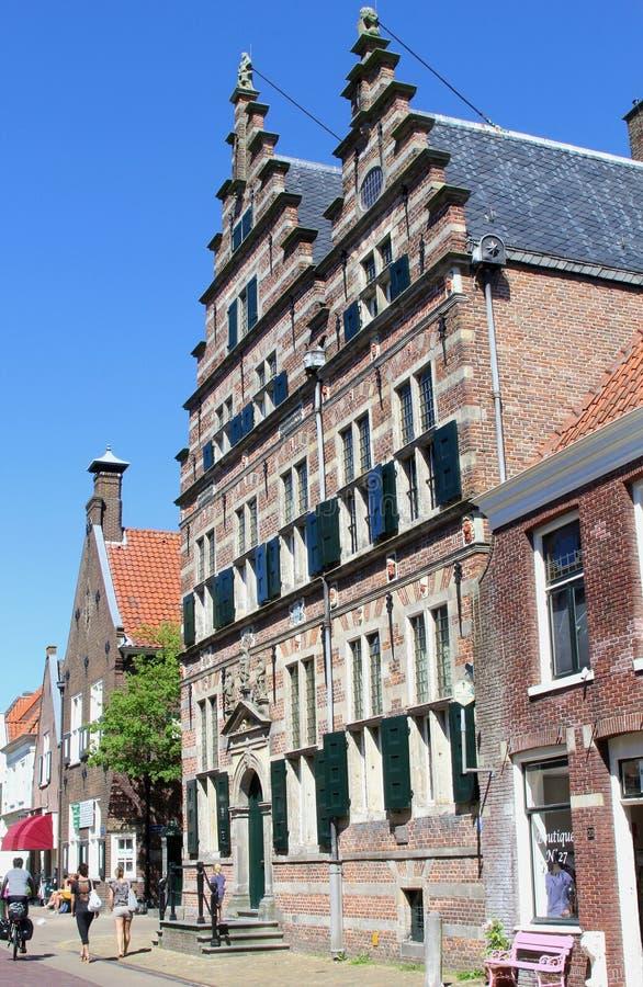 Municipio medievale Naarden, Paesi Bassi fotografia stock libera da diritti