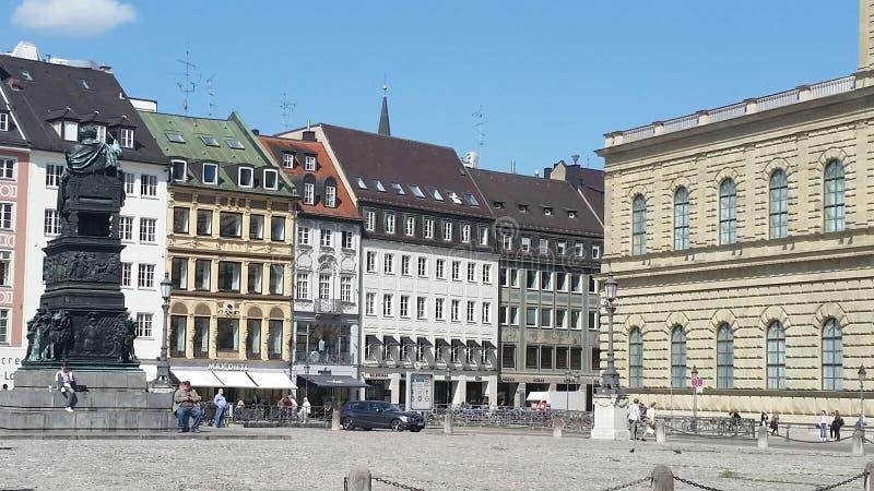 Munique Residenz Tyskland royaltyfri bild