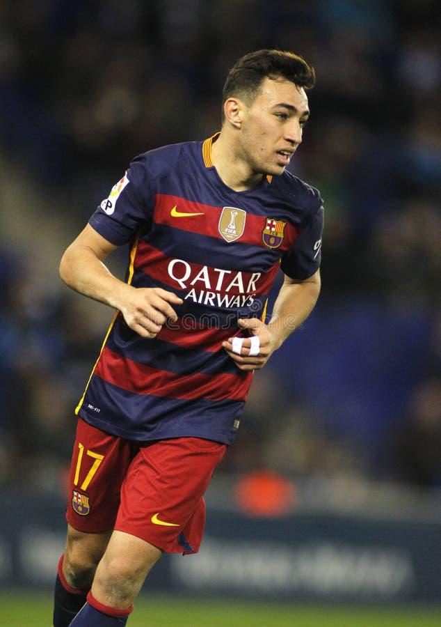 Free Munir El Haddadi Of FC Barcelona Royalty Free Stock Photos - 76273888