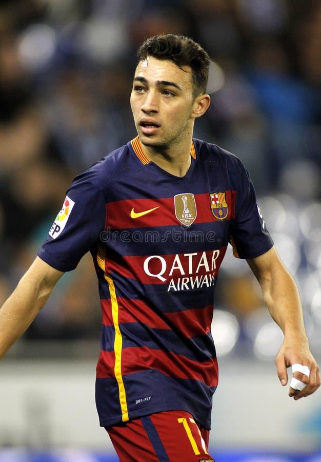 Free Munir El Haddadi Of FC Barcelona Royalty Free Stock Image - 76273906