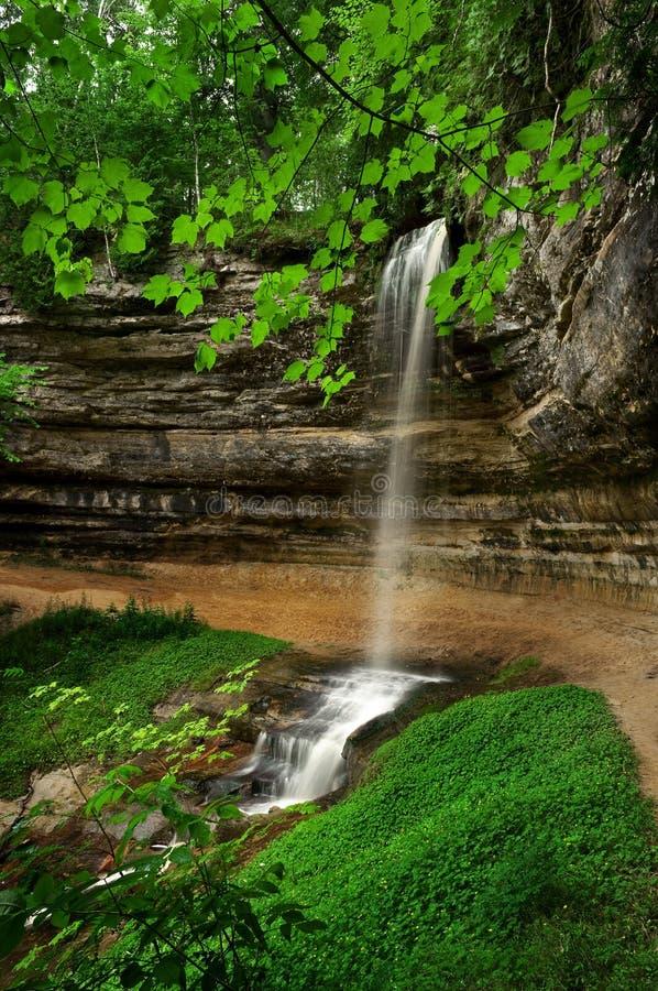 Munising Falls. royalty free stock image