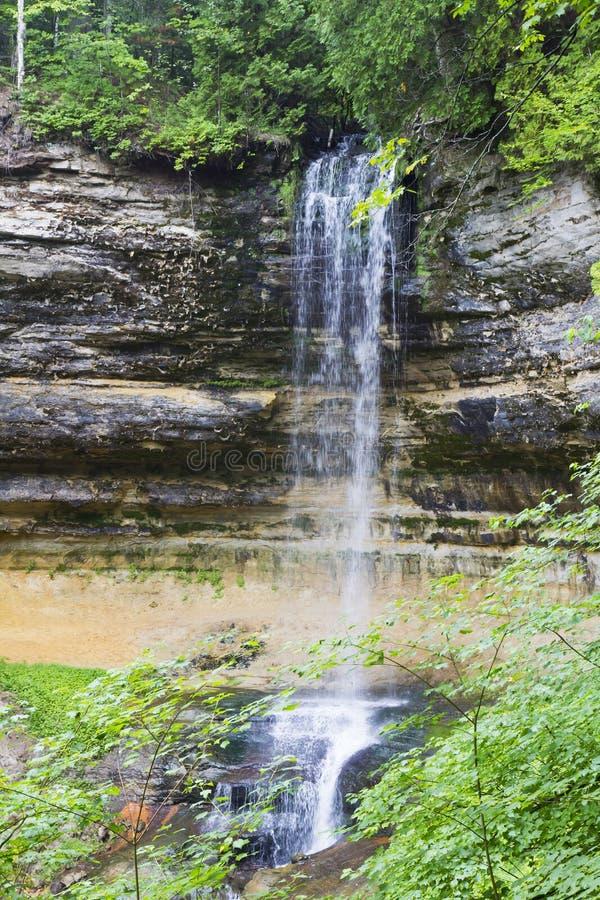 Munising Falls royalty free stock images