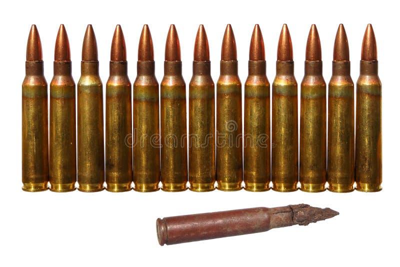 munitie Verschillend van andere royalty-vrije stock afbeeldingen