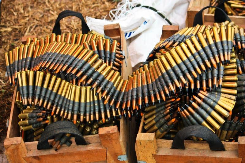 Munition stockfotografie