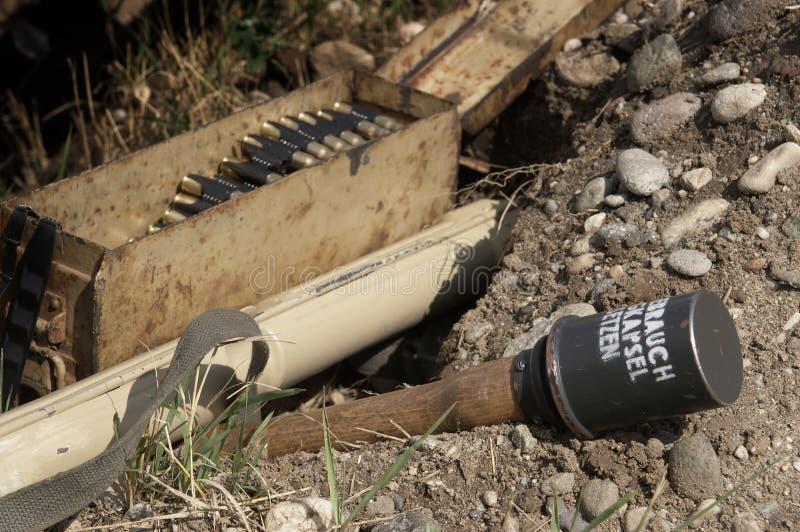 Munitions image libre de droits