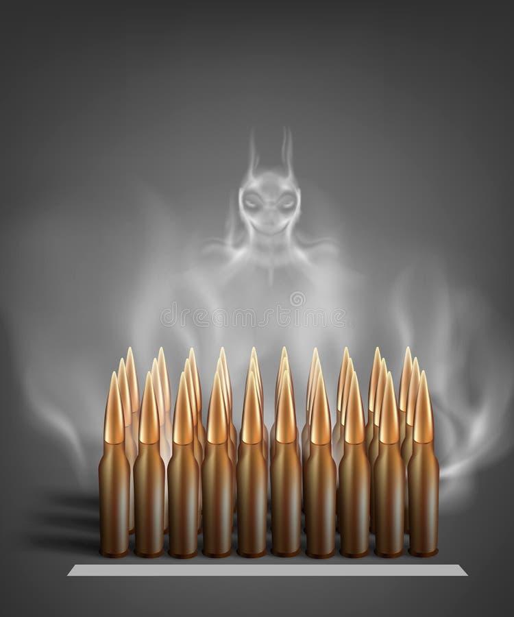 Munitions d'armée illustration libre de droits