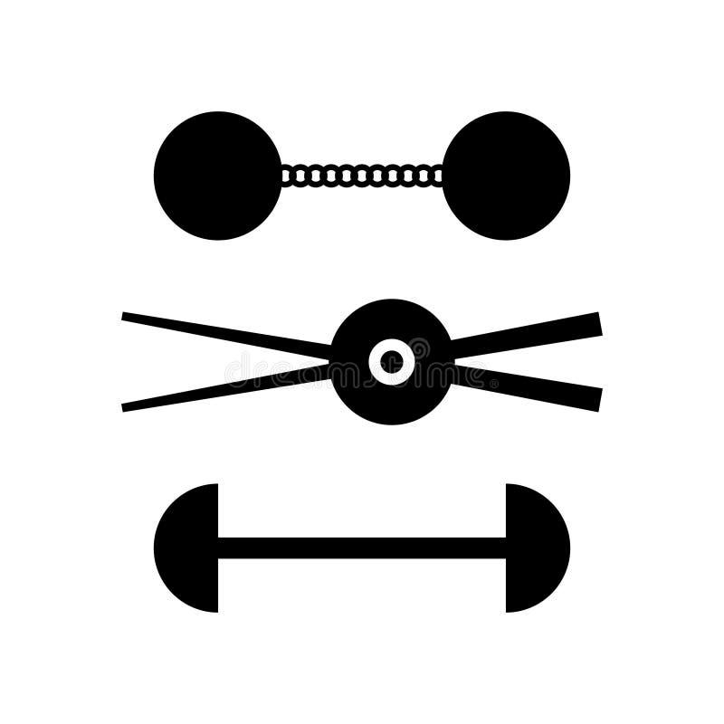 munitions de bateau de navigation de Chaîne-tirs illustration libre de droits