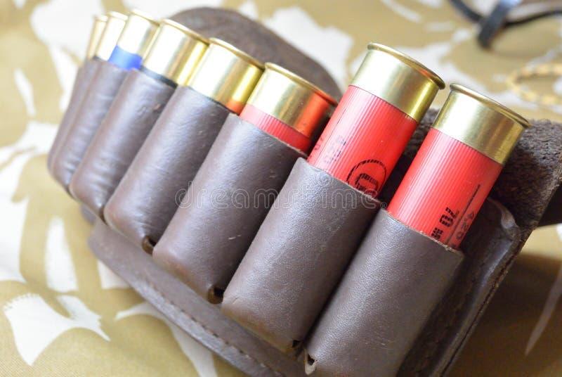 Munitionstasche stockfotografie