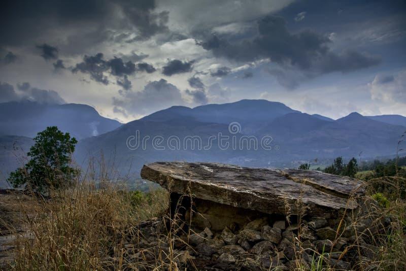 Muniyara od Marayoor w Kerala, India obraz stock