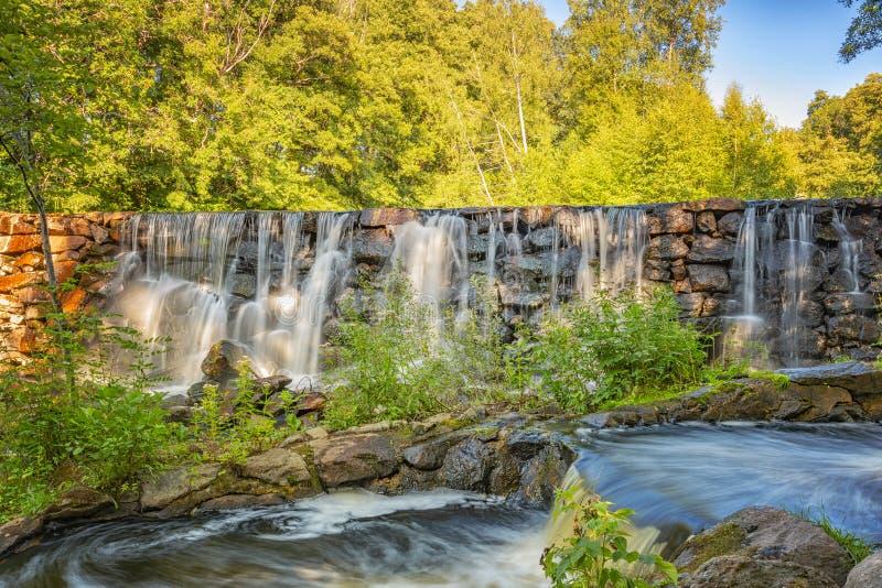 Munka Ljungby Salmon Ladder images libres de droits