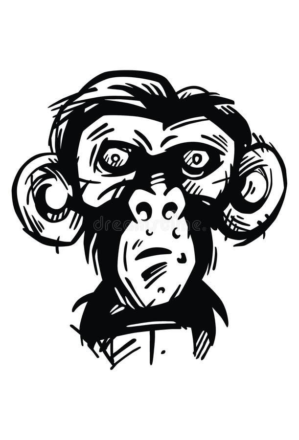 Munkie, der Affe vektor abbildung