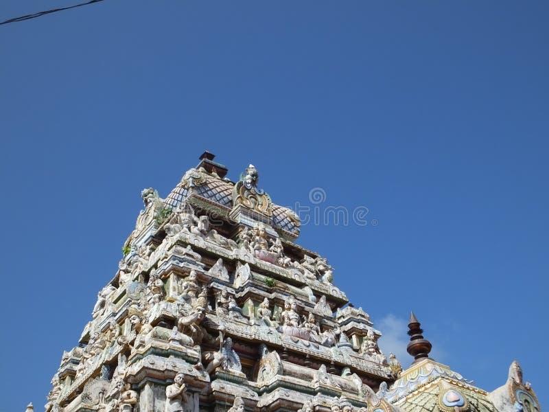 Munneswaram寺庙 库存照片