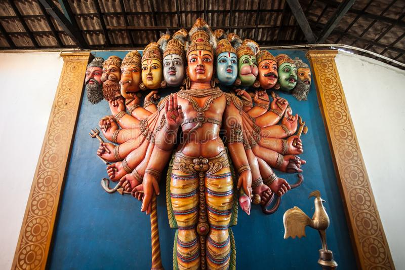 Munneswaramtempel, Sri Lanka royalty-vrije stock afbeeldingen