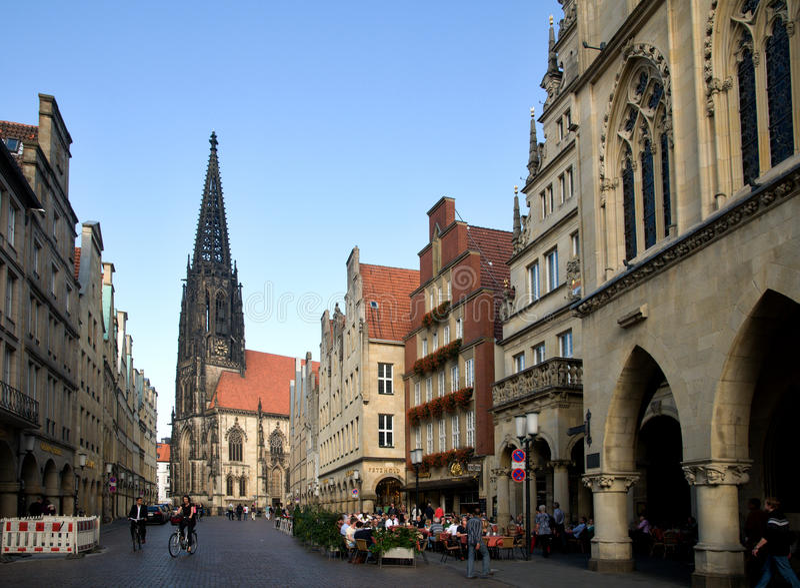 Munster, Γερμανία στοκ φωτογραφία με δικαίωμα ελεύθερης χρήσης