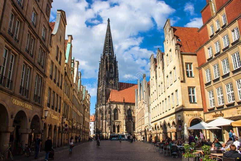 Munster, Alemanha fotografia de stock royalty free