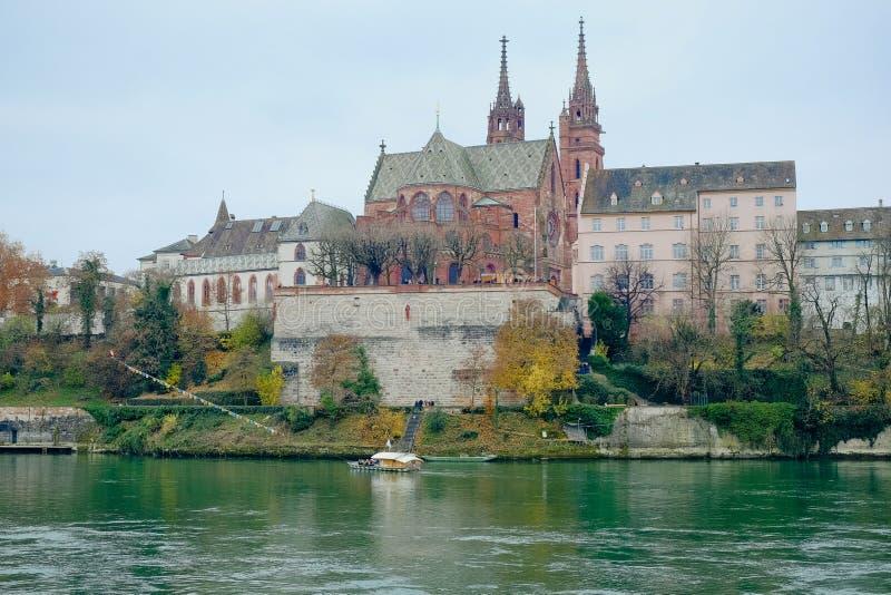 Munster of Basel stock image
