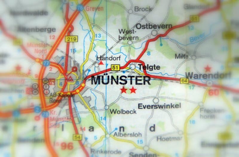 Munster, Noordrijn-Westfalen, Duitsland Europa royalty-vrije stock foto