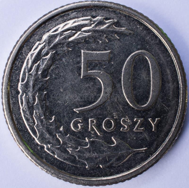 Muntstuk 50 Groszy-Voorzijde