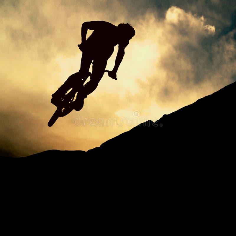 Muontain-bicicleta imagem de stock royalty free