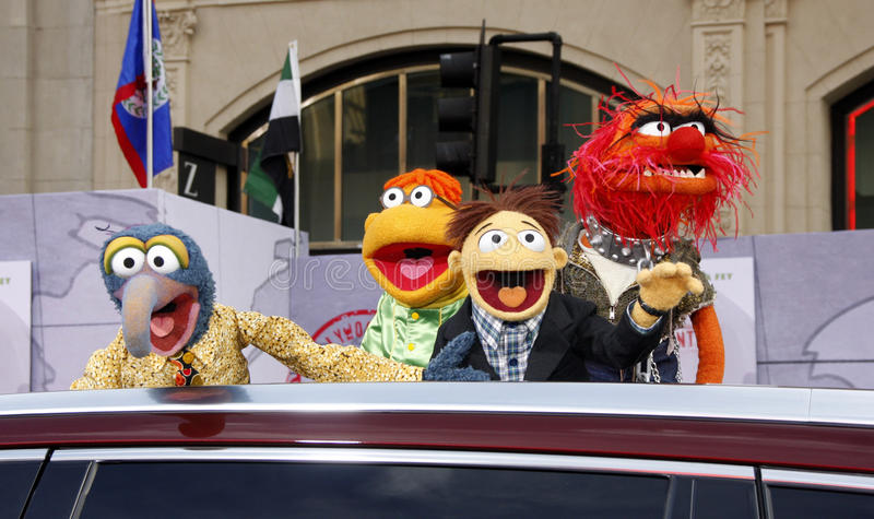 Muppets stock afbeelding