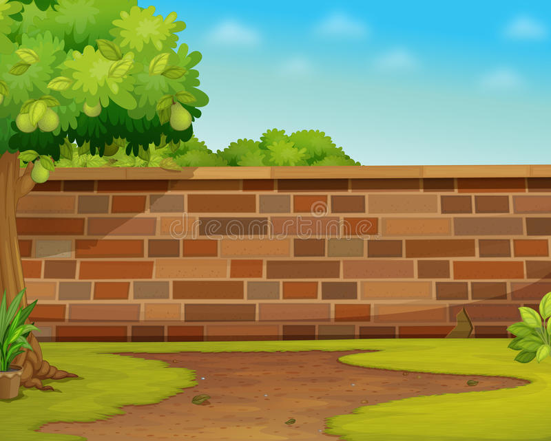 Mur illustration stock
